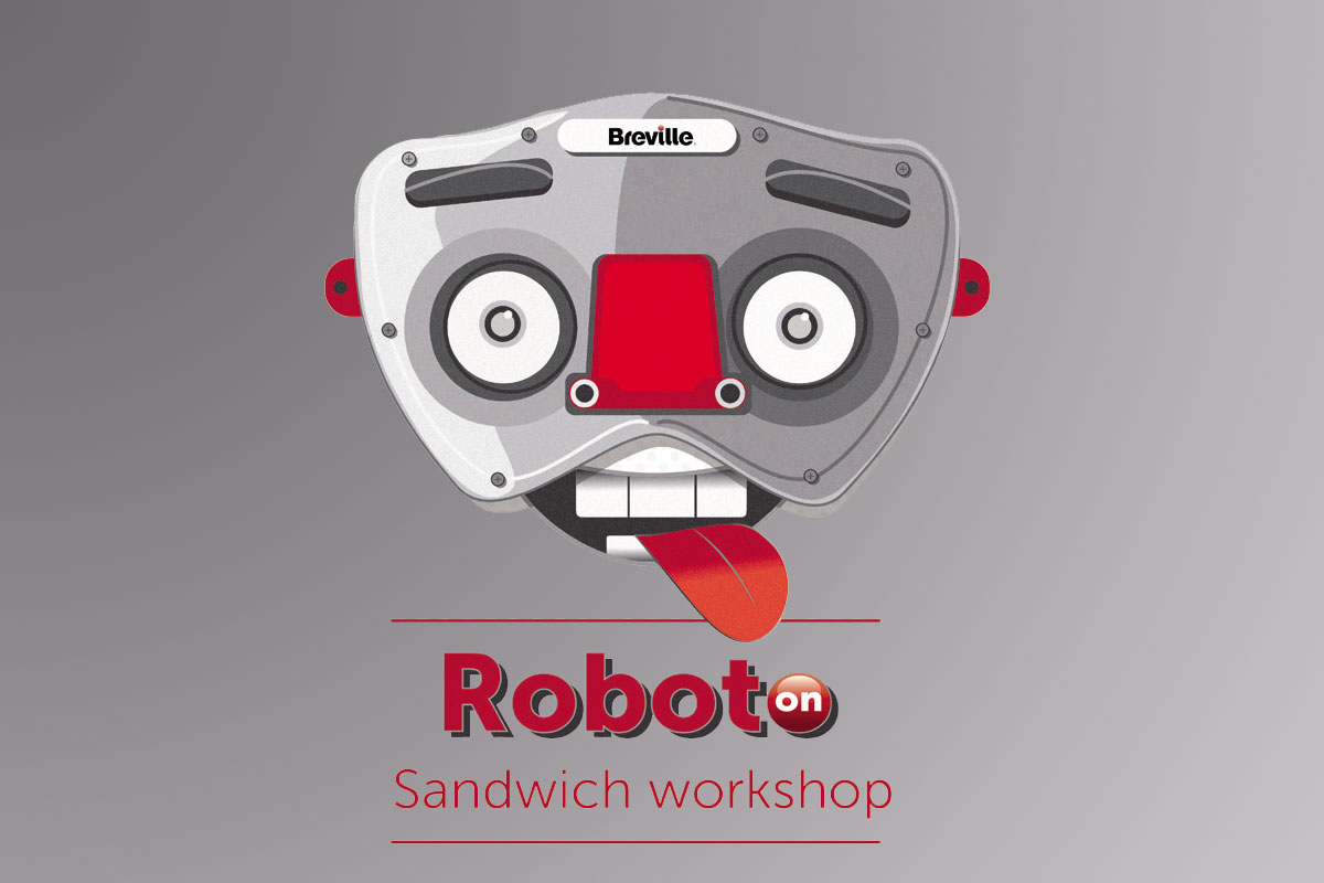 Talleres Roboto Sandwich by Breville